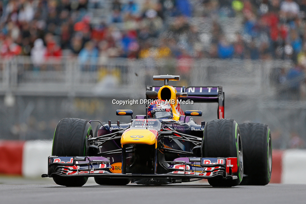 MOTORSPORT - F1 2013 - GRAND PRIX OF CANADA - MONTREAL (CAN) - 07 TO 09/06/2013 - PHOTO FRANCOIS FLAMAND / DPPI - VETTEL SEBASTIAN (GER) - RED BULL RENAULT RB9 - ACTION