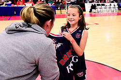 Half time shirt presentations - Photo mandatory by-line: Ryan Hiscott/JMP - 26/04/2019 - BASKETBALL - SGS Wise Arena - Bristol, England - Bristol Flyers v London City Royals - British Basketball League Championship