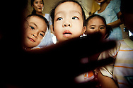 Pupils in a school of Mekong Delta area, Vietnam, Southeast Asia