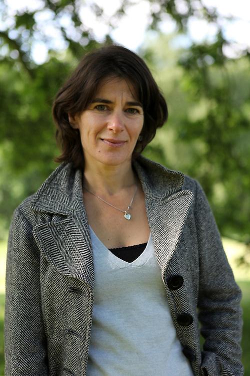 Author Esther Freud photographed for M Magazine at Kenwood House on Hampstead Heath, July 2012