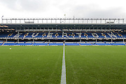 General view of Goodison Park before the Premier League match between Everton and West Ham United at Goodison Park, Liverpool, England on 30 October 2016. Photo by Mark P Doherty.