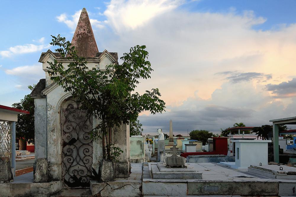 Cemetery in Cardenas, Matanzas, Cuba.