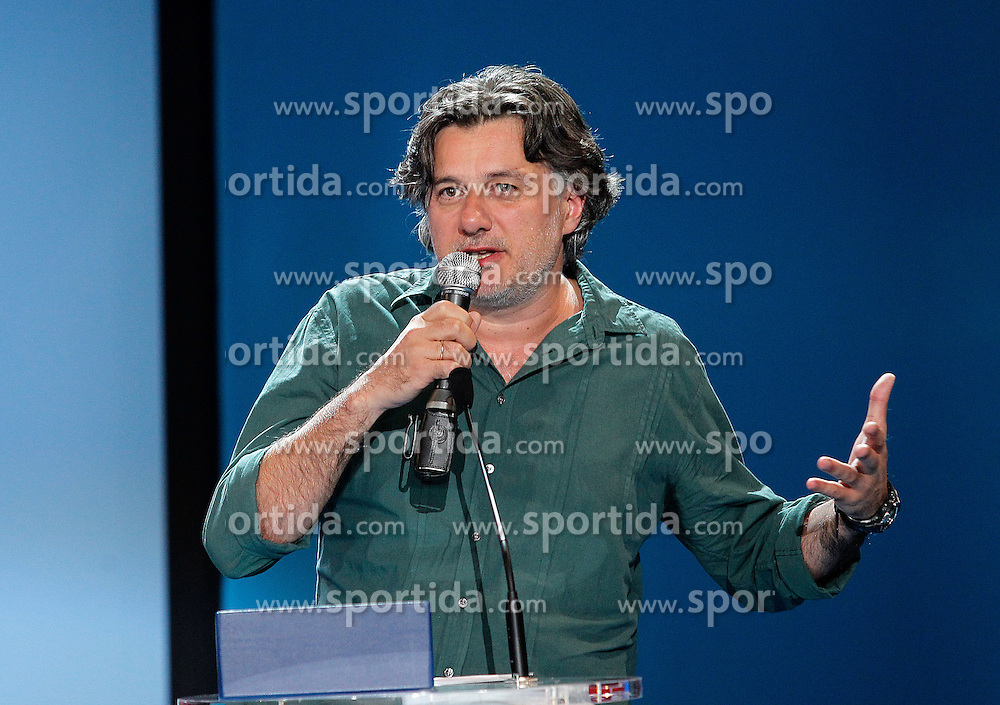 "24.09.2011, Sebastian Donostia, ESP, 59. San Sebsatian Filmfestival, Zinemaldia, im Bild Greek film director Filippos Tsitos Shilver Shell for Best Director for ""Adikos Kosmos-Unfair world"" during the 59th San Sebastian Donostia International Film Festival - Zinemaldia.September 24,2011.EXPA Pictures © 2011, PhotoCredit: EXPA/ Alterphoto/ Acero +++++ ATTENTION - OUT OF SPAIN/(ESP) +++++"