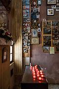 ITALY, Franciacorta area, Iseo Lake,  Monteisola, Santuario della Madonna della Ceriola