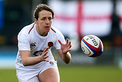 Katy Daley-Mclean of England Women - Mandatory by-line: Robbie Stephenson/JMP - 10/02/2019 - RUGBY - Castle Park - Doncaster, England - England Women v France Women - Women's Six Nations