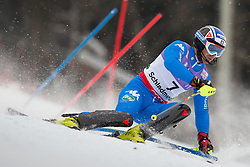 17.02.2013, Planai, Schladming, AUT, FIS Weltmeisterschaften Ski Alpin, Slalom, Herren, 1. Durchgang, im Bild Manfred Moelgg (ITA) // Manfred Moelgg of Italy in action during 1st run of the mensSlalom at the FIS Ski World Championships 2013 at the Planai Course, Schladming, Austria on 2013/02/17. EXPA Pictures © 2013, PhotoCredit: EXPA/ Johann Groder