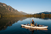 Kayak Fishing in Washington State with Jesse Coble and Chris Jones.