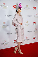 Coco Rocha appears at the Kentucky Derby on May 4, 2013 in Louisville, Kentucky. (Photo by Michael Hickey)