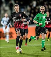 FODBOLD: Mikkel Duelund (FC Midtjylland) under kampen i ALKA Superligaen mellem FC Midtjylland og FC Helsingør den 3. november 2017 på MCH Arena i Herning. Foto: Claus Birch