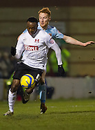 Picture by David Horn/Focus Images Ltd +44 7545 970036.15/01/2013.Moses Odubajo of Leyton Orient during the The FA Cup match at the Matchroom Stadium, London.