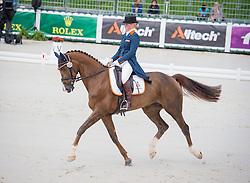 Elaine Pen, (NED), Vira - Dressage Eventing - Alltech FEI World Equestrian Games™ 2014 - Normandy, France.<br /> © Hippo Foto Team - Shannon Brinkman<br /> 25/06/14