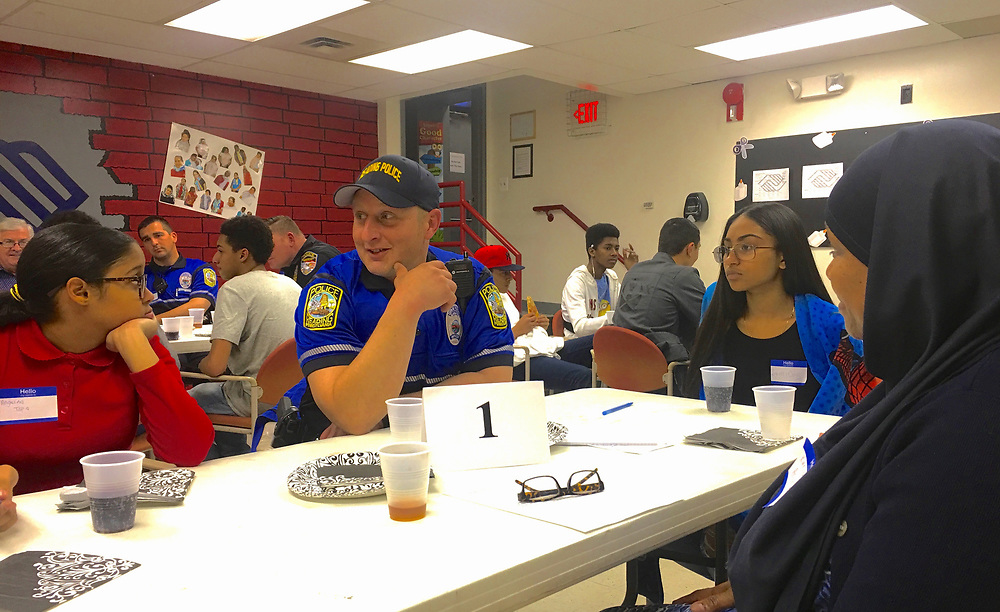 Police and City Teenagers Dialogue, Olivet, Reading, PA