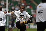 Twickenham, Great Britain. Phil VICKERY, warming up, before the 2007 Heineken Cup Final, between Leicester Tigers and London Wasps. RFU Stadium, London,  Sun 20.05.2007. [Credit: Peter Spurrier/Intersport Images]   [Mandatory Credit, Peter Spurier/ Intersport Images].