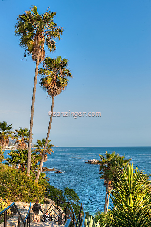 Laguna Beach Ca; Heisler Park, Rockpile Beach, Main Beach, seaside cove; beach; ocean; cliff