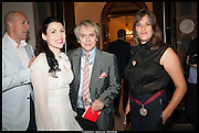 DYLAN JONES; NEFER SUVIO;  NICK RHODES; TRACEY EMIN, Royal Academy of Arts Summer Exhibition 2014. Piccadilly. London. 4 June 2014.