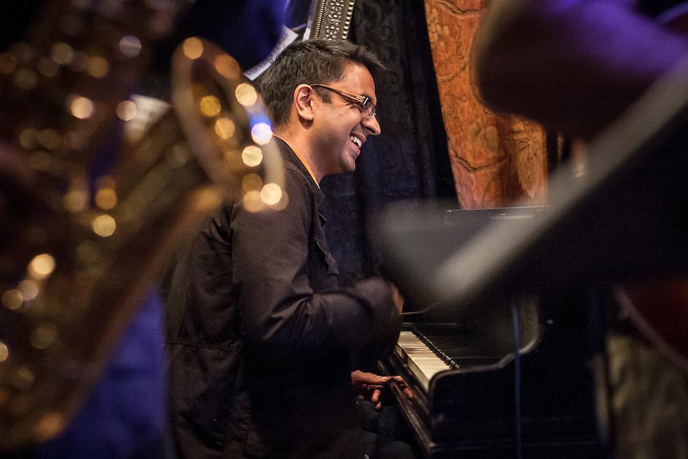 "Manhattan, New York: Jazz pianist, Harvard professor, and recipient of a MacArthur Foundation ""genius"" grant, Vijay Iyer."