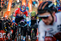 VAN DER POEL Mathieu (NED) during the Men Elite race, UCI Cyclo-cross World Cup #8 at Hoogerheide, Noord-Brabant, The Netherlands, 22 January 2017. Photo by Pim Nijland / PelotonPhotos.com | All photos usage must carry mandatory copyright credit (Peloton Photos | Pim Nijland)