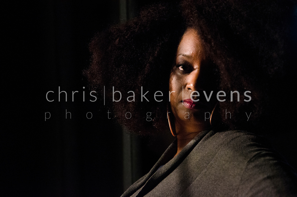Chris Baker Evens is a documentary photographer focusing on people accessing their power in public and private spaces.