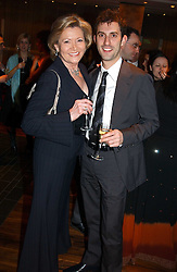 GRETA HUTCHESON mother in law of Gordon Ramsay and head chef at Claridges MARK SERGEANT at the opening party of Pengelley's, 164 Sloane Street, London SW1 on 22nd February 2005.<br /><br />NON EXCLUSIVE - WORLD RIGHTS