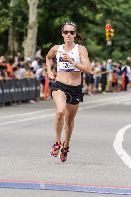 NYRR Oakley Mini 10K for Women: Lesley Higgins