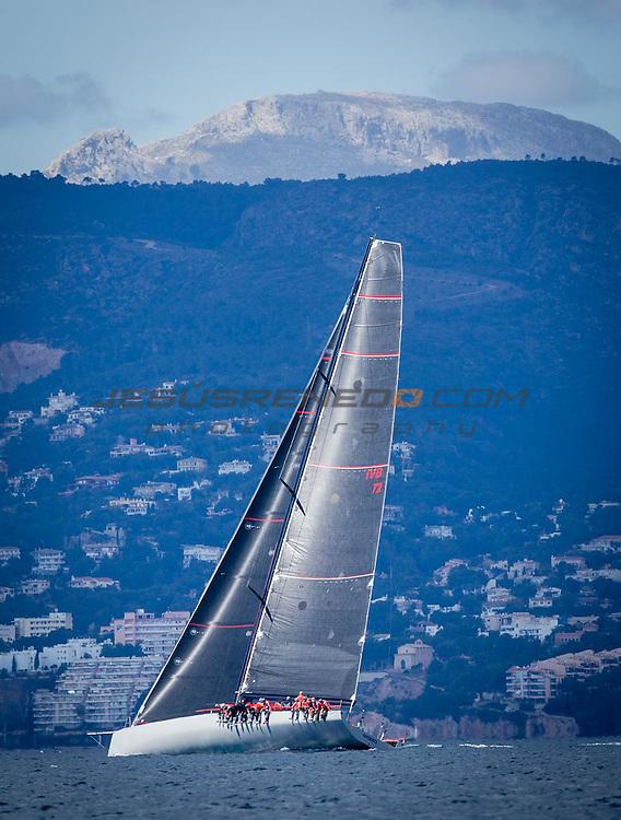 "Maxi 72 ""MOMO "" training in Palma for the 2015 season .©jesusrenedo"""