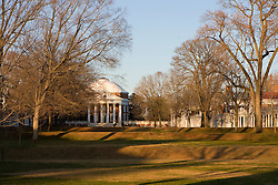 The Lawn and Rotunda The Grounds of the University of Virginia, Charlottesville, VA - November 27, 2007.