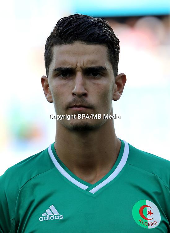Fifa Men´s Tournament - Olympic Games Rio 2016 - <br /> Algeria National Team -  <br /> Rachid AIT-ATMANE