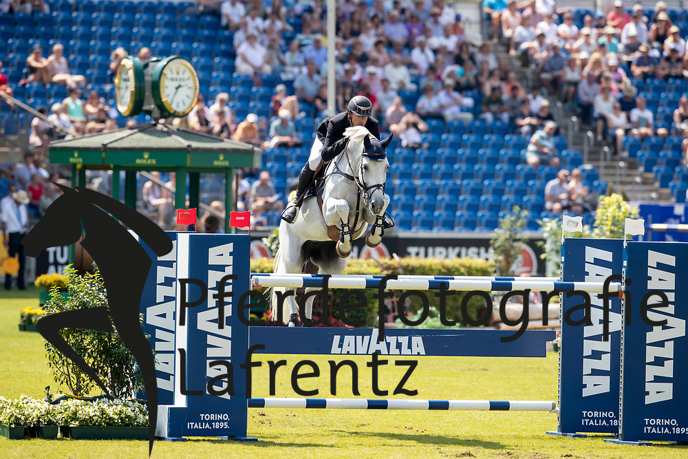 WATHELET Gregory (BEL), Coree<br /> Aachen - CHIO 2018<br /> Preis von Nordrhein-Westfalen<br /> 20. Juli 2018<br /> © www.sportfotos-lafrentz.de/Stefan Lafrentz