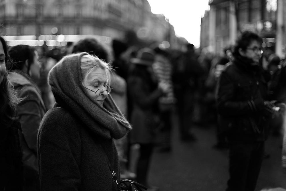 Arts et Métiers lady, Paris