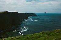 Cliffs of Moher on west coast of Ireland. Copyright 2019 Reid McNally.