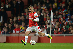 26.11.2013, The Emirates Stadium, London, ENG, UEFA CL, FC Arsenal vs Olympique Marseille, Gruppe F, im Bild Arsenal's Jack Wilshere // Arsenal's Jack Wilshere during UEFA Champions League group F match between FC Arsenal and Olympique Marseille at the The Emirates Stadium in London, Great Britain on 2013/11/26. EXPA Pictures © 2013, PhotoCredit: EXPA/ Mitchell Gunn<br /> <br /> *****ATTENTION - OUT of GBR*****