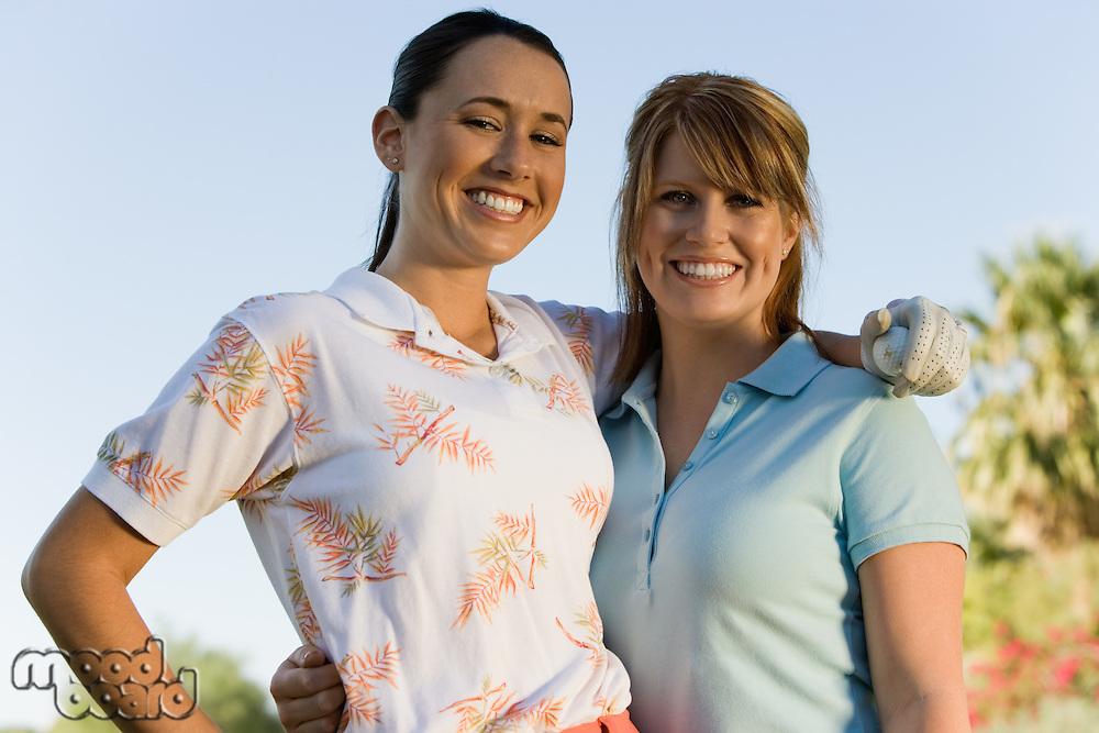 Friends Golfing Together