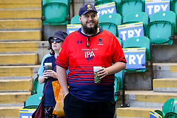Worcester Warriors Fans arrive at Franklins Gardens for the Aviva Premiership match against Northampton Saints - Mandatory by-line: Robbie Stephenson/JMP - 05/05/2018 - RUGBY - Franklin's Gardens - Northampton, England - Northampton Saints v Worcester Warriors - Aviva Premiership