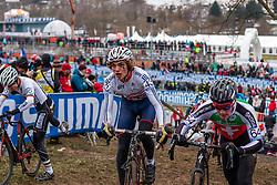 William Gascoyne (GBR), Men Juniors, Cyclo-cross World Championship Tabor, Czech Republic, 31 January 2015, Photo by Pim Nijland / PelotonPhotos.com