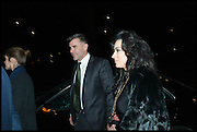 IVAN MASSOW; NANCY DELL D'OLIO, Conservative Party Black and White Ball fundraiser 2015, Grosvenor House. Park Lane, London. 9 February 2015