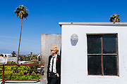 Photos of singer Gerard Way taken in a Hollywood studio in Los Angeles, California July 17, 2014.