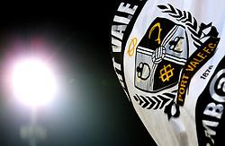 A Port Vale flag is waved - Mandatory by-line: Robbie Stephenson/JMP - 20/01/2017 - FOOTBALL - Vale Park - Stoke-on-Trent, England - Port Vale v Bury - Sky Bet League One
