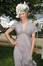 JODIE KIDD at the 3rd day of the 2009 Glorious Goodwood racing festival held at Goodwood Racecourse, West Sussex on 30th July 2009.