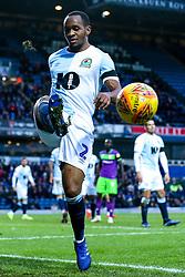 Ryan Nyambe of Blackburn Rovers - Mandatory by-line: Robbie Stephenson/JMP - 09/02/2019 - FOOTBALL - Ewood Park - Blackburn, England - Blackburn Rovers v Bristol City - Sky Bet Championship