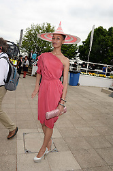 MAI-LING DWYER at the Investec Derby 2013 held at Epsom Racecourse, Epsom, Surrey on 1st June 2013.