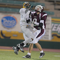 31 October, 2008: St. Thomas Aquinas SS/WB Kennon Williams (#9)  The St. Thomas Falcons recorded their first shut out of the season with a 41-0 shutout of the Southern Lab Kittens at Strawberry Stadium in Hammond, LA.
