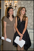ELINA MANSKIA; NIKA GALKINA, The Old Russian New Year's Eve Gala. In aid of the Gift of Life foundation. Savoy Hotel, London. 13 January 2015.