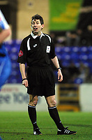 Photo: Dave Linney.<br />Chester City v Hereford United. Coca Cola League 2. 27/02/2007 Referee .L.W.Probert