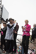 KEIRA JOHNSTONE; CECILE RICHARDS,   , Womens's March on  Washington DC. 21 January 2017