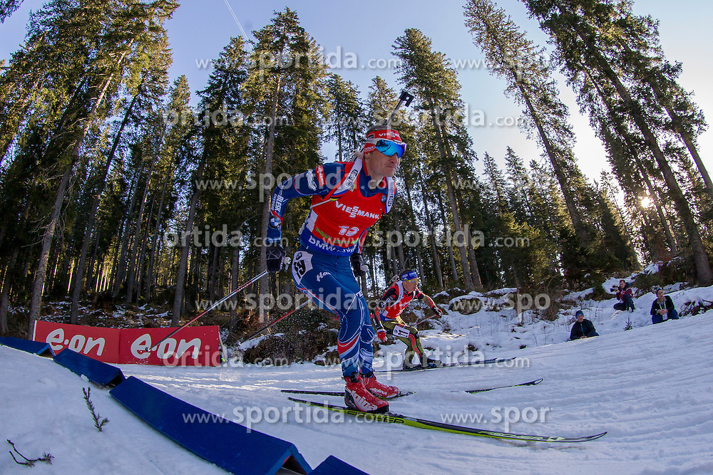 Ondrej Moravec (CZE) competes during Men 12,5 km Pursuit at day 3 of IBU Biathlon World Cup 2015/16 Pokljuka, on December 19, 2015 in Rudno polje, Pokljuka, Slovenia. Photo by Urban Urbanc / Sportida