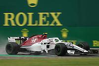 Charles Leclerc Alfa Romeo Sauber<br /> Monza 31-08-2018 GP Italia <br /> Formula 1 Championship 2018 <br /> Foto Federico Basile / Insidefoto