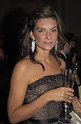 Nathalie Massanet, British Fashion Awards, V. & A. Museum. 2 November 2004. ONE TIME USE ONLY - DO NOT ARCHIVE  © Copyright Photograph by Dafydd Jones 66 Stockwell Park Rd. London SW9 0DA Tel 020 7733 0108 www.dafjones.com