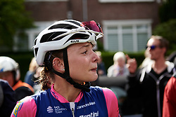 Chiara Consonni (ITA) overwhelmed by the win at Boels Ladies Tour 2019 - Stage 5, a 154.8 km road race from Nijmegen to Arnhem, Netherlands on September 8, 2019. Photo by Sean Robinson/velofocus.com