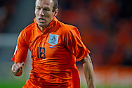 17-10-2007: Voetbal: Nederland-Slovenie: Eindhoven<br /> Arjen Robben, illustratief Oranje Shirt<br /> Foto: Geert van Erven