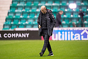 Rangers assistant manager Gary McAllister inspects the pitch before the Ladbrokes Scottish Premiership match between Hibernian and Rangers at Easter Road, Edinburgh, Scotland on 19 December 2018.